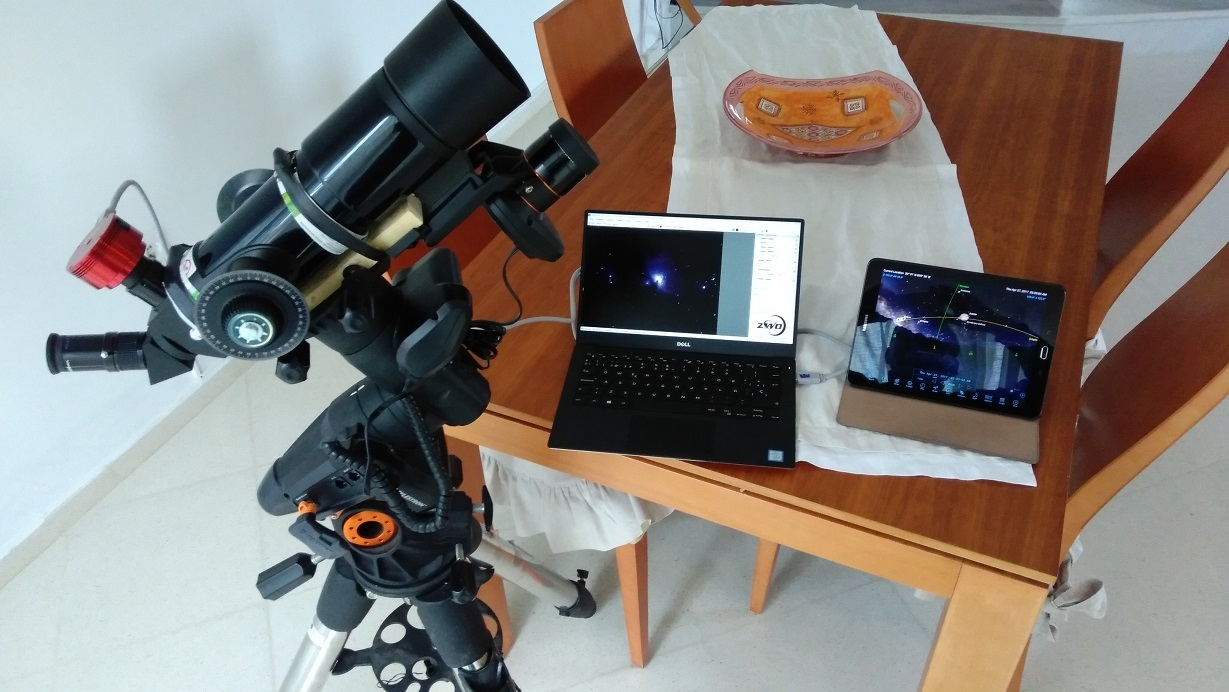 Controlling from computer and starsense - Celestron NexStar - Cloudy